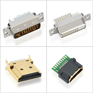 COMPUTER VIDEO CONNECTORS