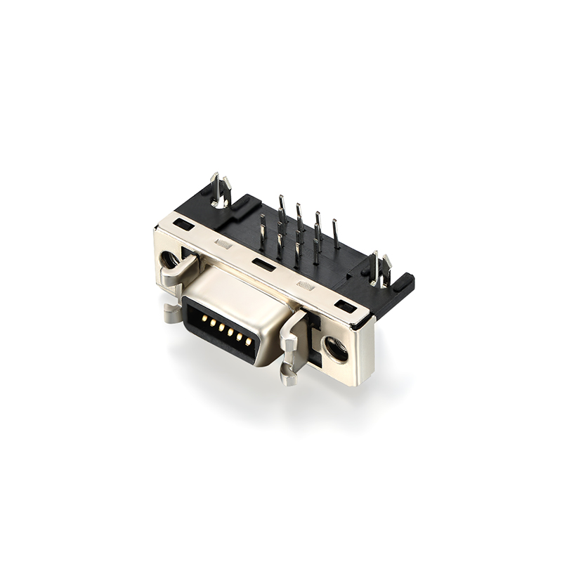 CN Iron 14 pin scsi 3 connector Right Angle