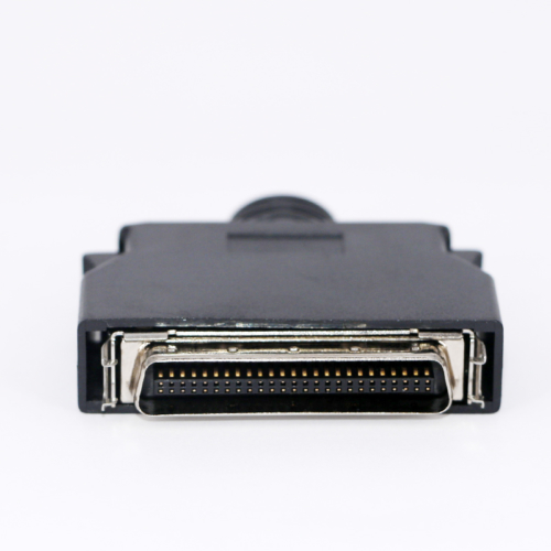 Black solder SCSI HPCN 50 pin connector male