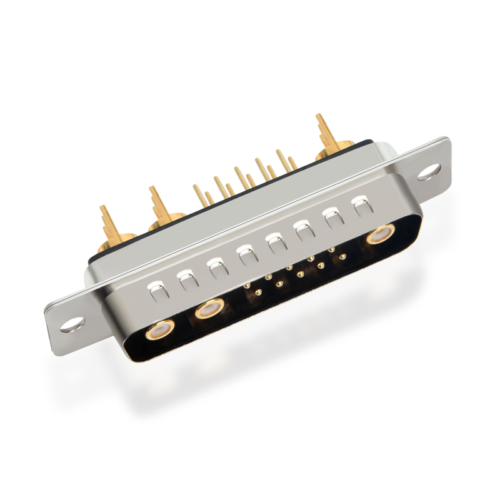 13w3 coaxial connector