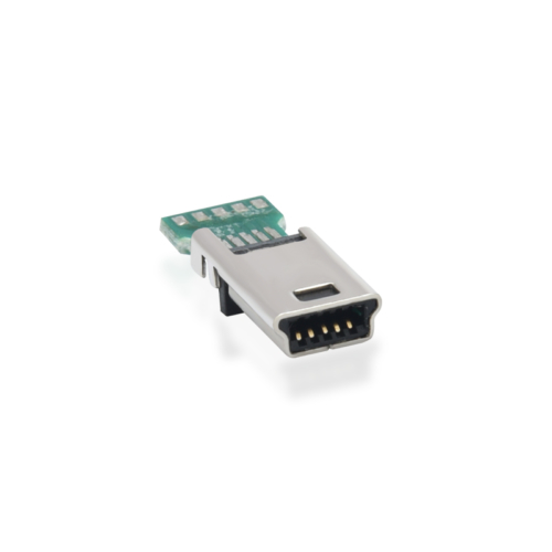 mini usb connector pcb mount