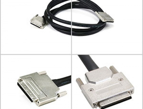 VHDCI SCSI cable manufacturer from ADAMICU