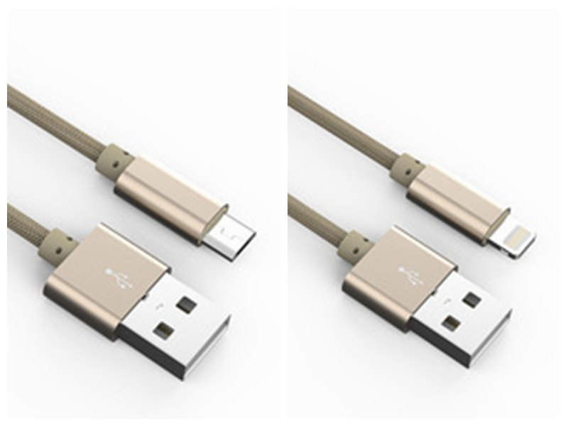 usb for Android and iphone charging cable