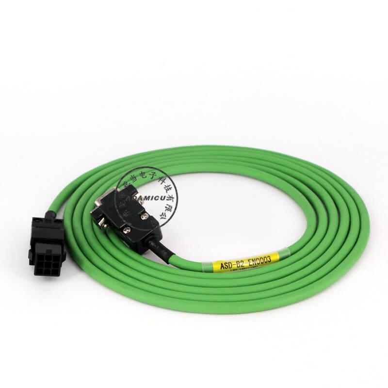 Delta B2 Series Servo Motor Encoder Continuous Flex Cable