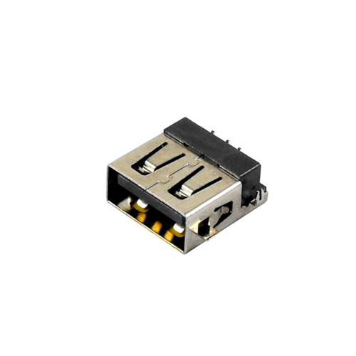 Type a female vertical usb connector