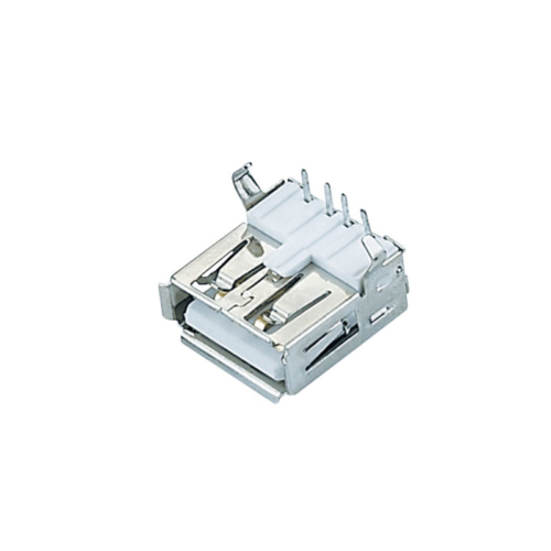 right angle dip/smd type ROHS CE type a usb port connectors