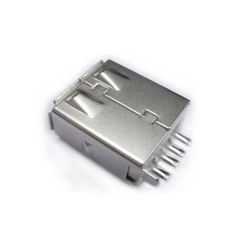 USB A Female Solder Connector