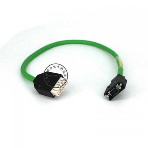 AMP+scsi SIEMENS servo encoder cable (1)