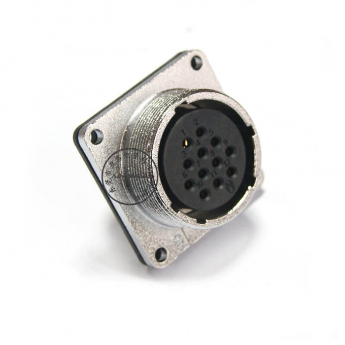 p28 12 pin female connector for communication