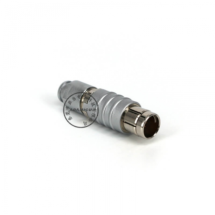 circular plug connector metal circular connector b series