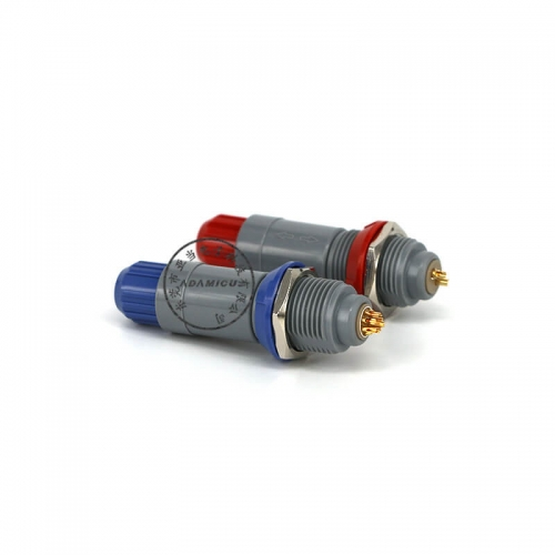 push pull connector plastic